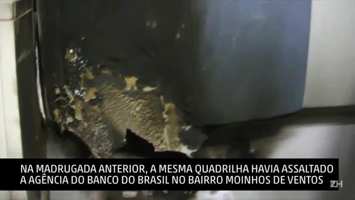 Quadrilha que roubava bancos é presa em flagrante em Porto Alegre