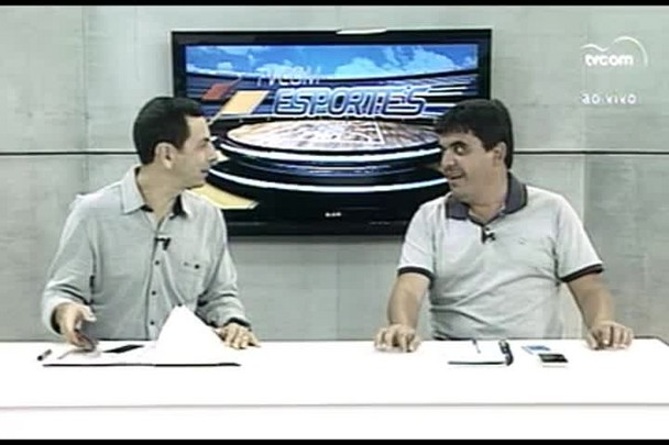 TVCOM Esportes. 3º Bloco. 03.03.16
