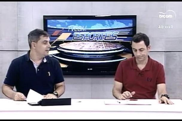 TVCOM Esportes. 3º Bloco. 10.03.16