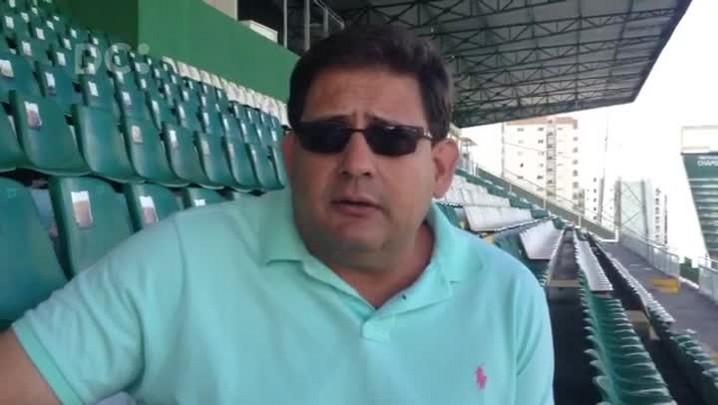 Guto Ferreira avalia desempenho da Chape afirma que pretende ser campeão invicto