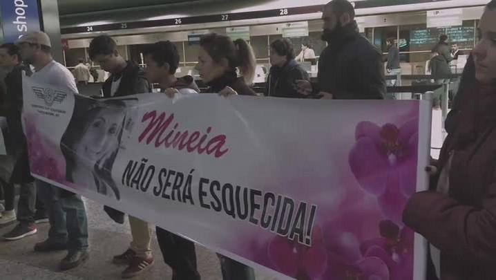 Assassinato de funcionária da Infraero motiva protesto no Aeroporto Salgado Filho
