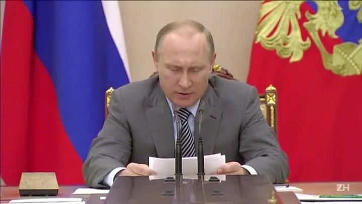 Putin diz que ausência russa afeta qualidade da Rio-2016