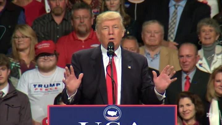 Trump defende nomeações para o futuro gabinete