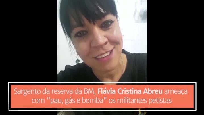 PM ameaça militantes que acompanharem julgamento de Lula na Capital