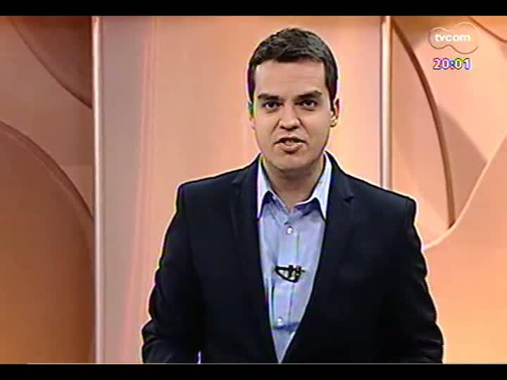 TVCOM 20 Horas - 03/01/13 - Bloco 1 - TVCOM 20 Horas entrevista diretor-presidente da EPTC