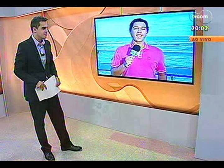 TVCOM 20 Horas - Vistoria no complexo Porto Seco - Bloco 1 - 08/02/2013