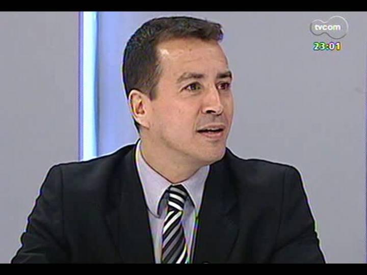 Mãos e Mentes - Superintendente regional da Polícia Federal, Sandro Caron - Bloco 1 - 19/05/2013