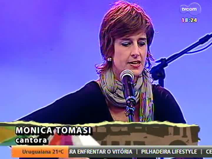 Programa do Roger - A cantora Monica Tomasi segue no estúdio para falar de sua carreira - bloco 4 - 04/06/2013