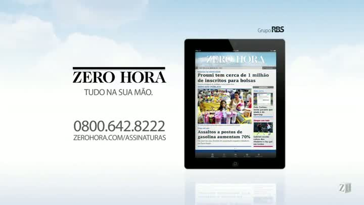 Leia na Zero Hora desta quinta-feira (01/08/2013)