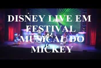 Mickey Mouse e seus amigos chegam para nova tour em Porto Alegre