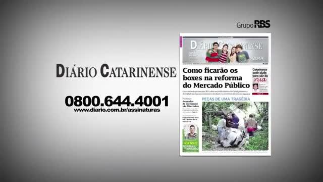 Chamadas Diário Catarinense 16 de novembro de 2013