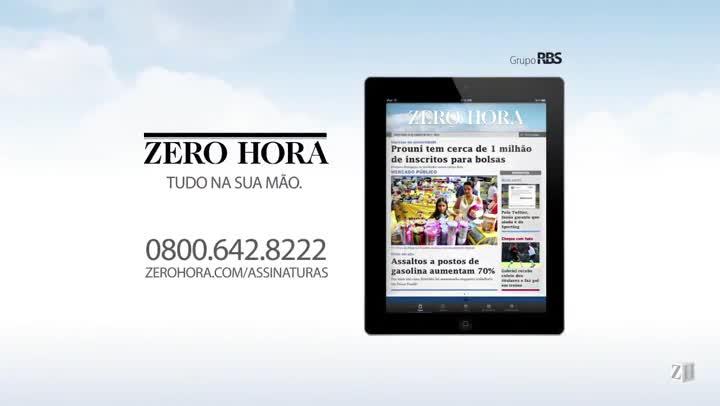 Leia na edição desta quarta-feira em Zero Hora (20/11/2013)