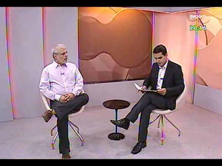 """TVCOM 20 Horas - Médico-chefe da equipe clínica HPS, Mauro Soibelman, fala sobre a campanha """"Uma Vida Vale Muito"""" - Bloco 2 - 10/12/2013"""