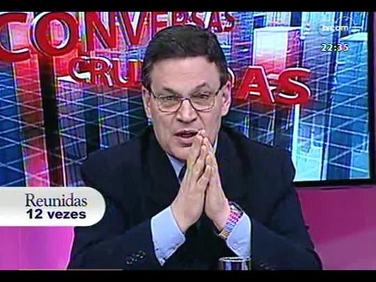 Conversas Cruzadas - A transmissão ao vivo de julgamentos em trinbunais superiores pela TV prejudica a justiça? - Bloco 2 - 03/01/2014