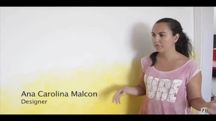 Casa&Cia Praia 2014: pintura em degradê