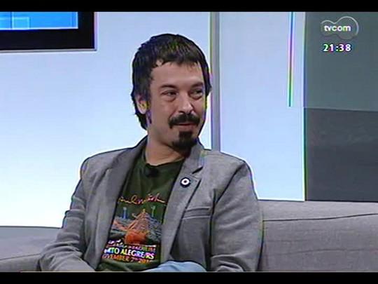 TVCOM Tudo Mais - Colunista Lúcio Brancato comenta o show do Guns n\' Roses em porto Alegre
