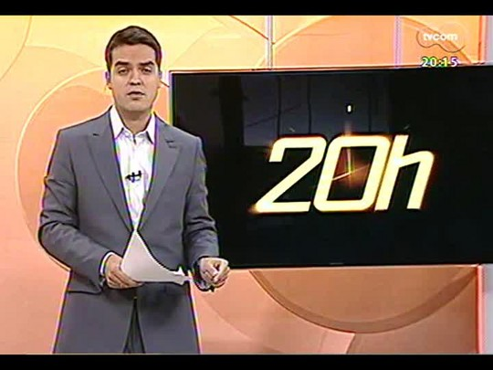 TVCOM 20 Horas - Estatuto do Pedestre será sancionado pelo prefeito de POA José Fortunati - Bloco 2 - 11/04/2014