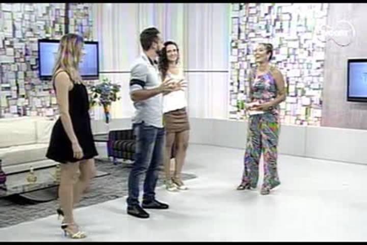 TVCOM Tudo+ - Samba no pé: passos básicos e truques dignos de passistas de escola - 12.02.15