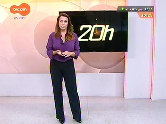 TVCOM 20 Horas - Segundo dia de greve dos vigilantes tem novas manifestações e transtornos - 10/03/2015
