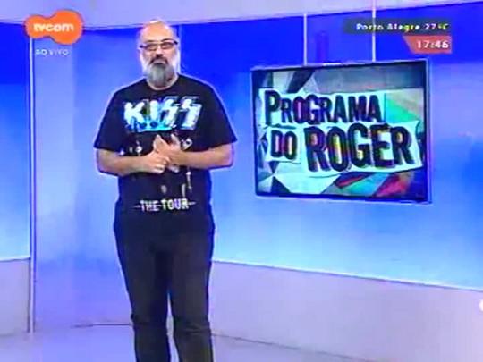 Programa do Roger - Luizinho Santos Quarteto - Bloco 1 - 05/03/15