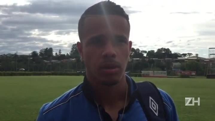 Batigol fala sobre seu desempenho contra o São Paulo