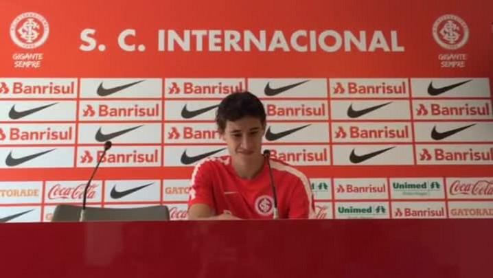 Rodrigo Dourado fala sobre Inter e Seleção