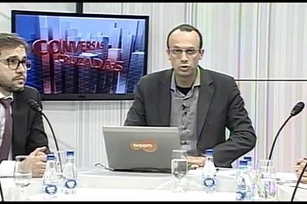 TVCOM Conversas Cruzadas. 4º Bloco. 06.06.16