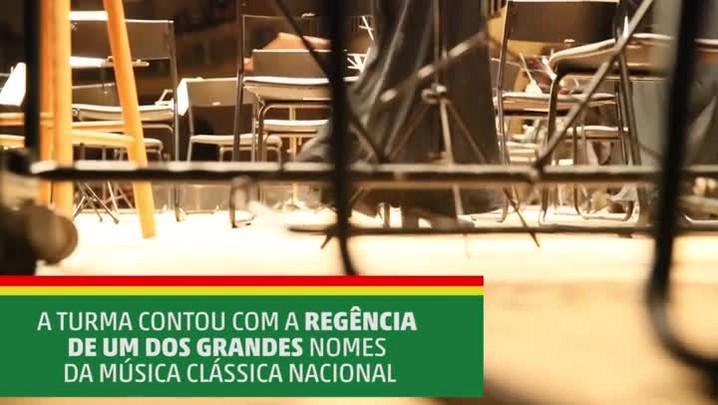 Concerto da Orquestra Jovem do Rio Grande do Sul com o maestro Isaac Karabtchevsky