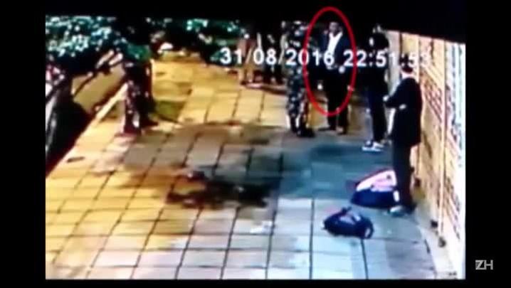 Imagens mostram advogado agredindo PM com cabeçada antes de confusão em protesto