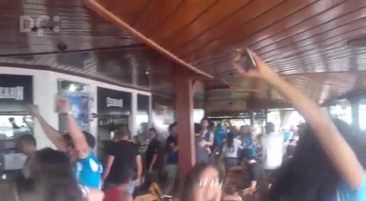 Veja como foi a comemoração do gol do Avaí, que levou o time à Série A do Campeonato Brasileiro