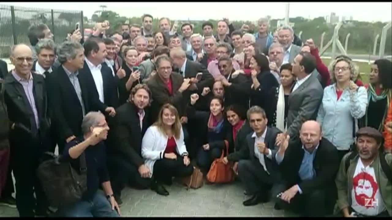 Agitação em Curitiba