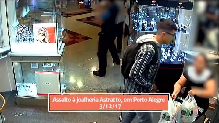 Criminosos que atacaram joalheria em Alvorada são os mesmos que assaltaram outra joalheria na Capital
