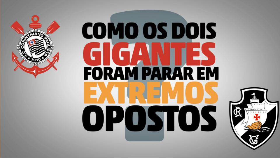 Por que os gigantes alvinegros estão em lados opostos da tabela do Brasileirão