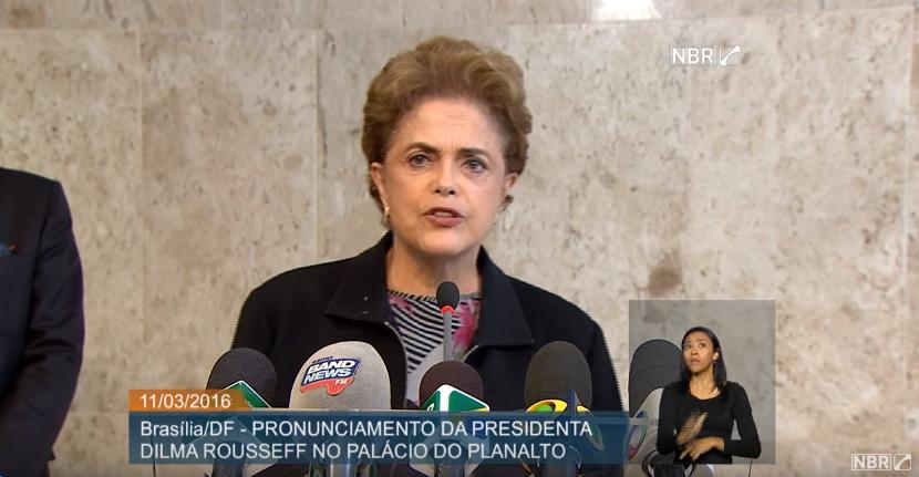 Em entrevista coletiva, Dilma descarta renúncia; confira o discurso na íntegra